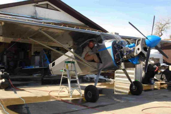 Aircraft Building on